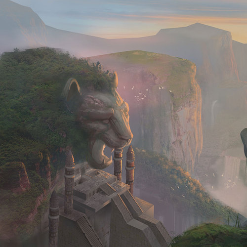 The Lion Temple by juanpablocorredor