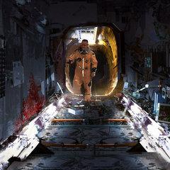 sci fi corridor by davidtilton