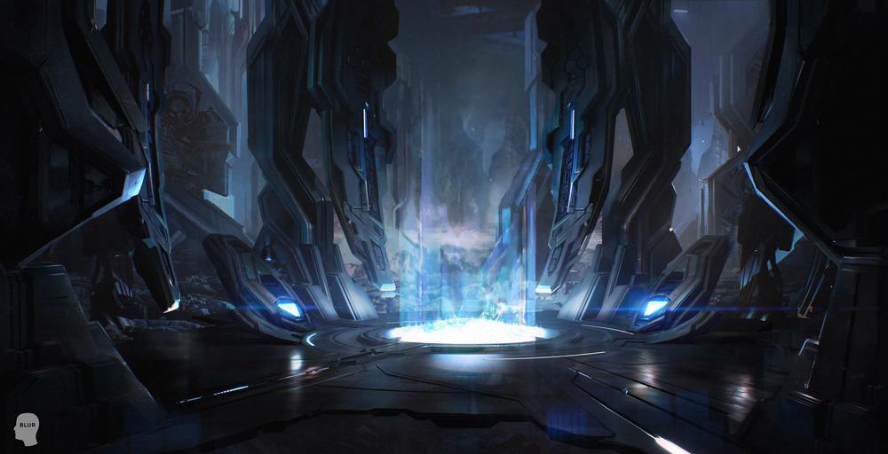 concept illustration - halo blur by maciej_kuciara