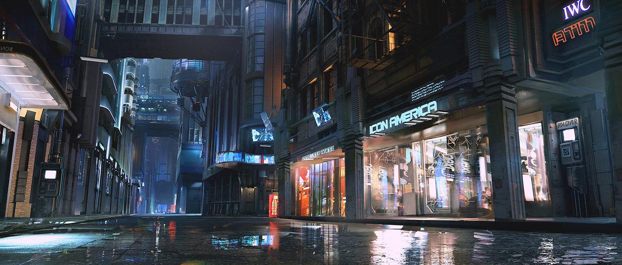 concept illustration - cyberpunk 2077 by maciej_kuciara