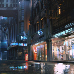 concept illustration - cyberpunk 2077 by maciej_kuciara