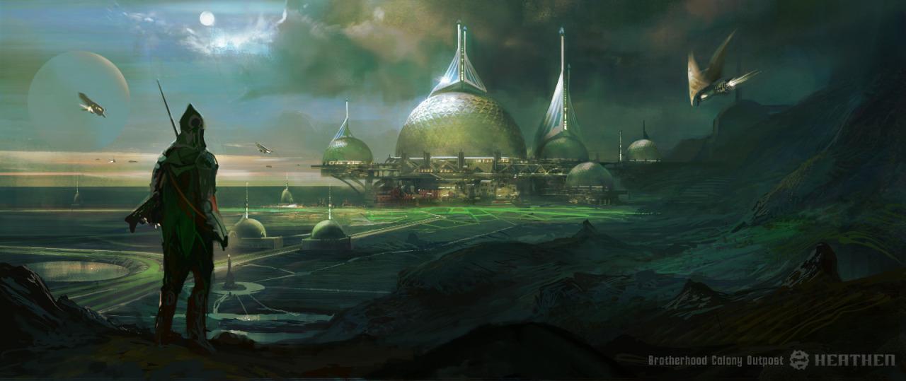 brotherhood colony outpost by amitdutta
