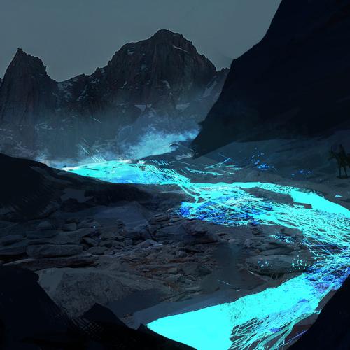 Blue Magma 2 by patfix