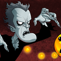 horror pac man by dlx_artist