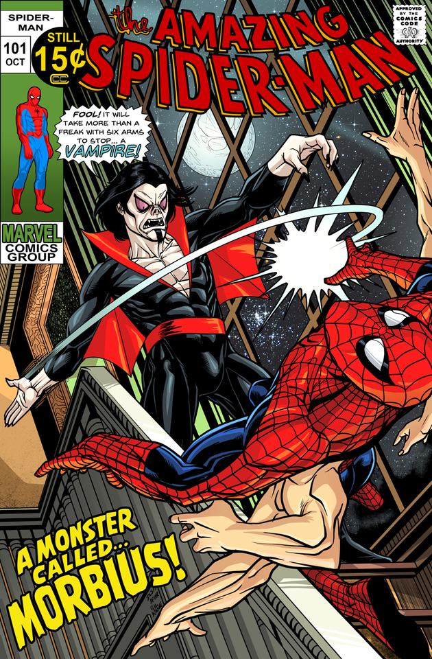amazing spider-man 101 recreation by dlx_artist