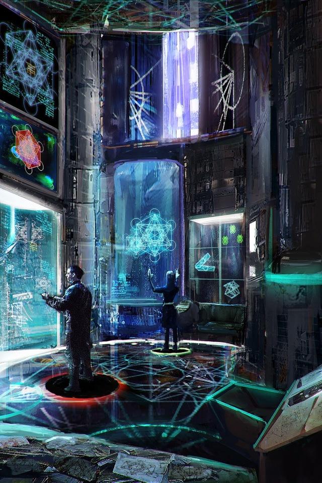 metatron lab by zeiferz