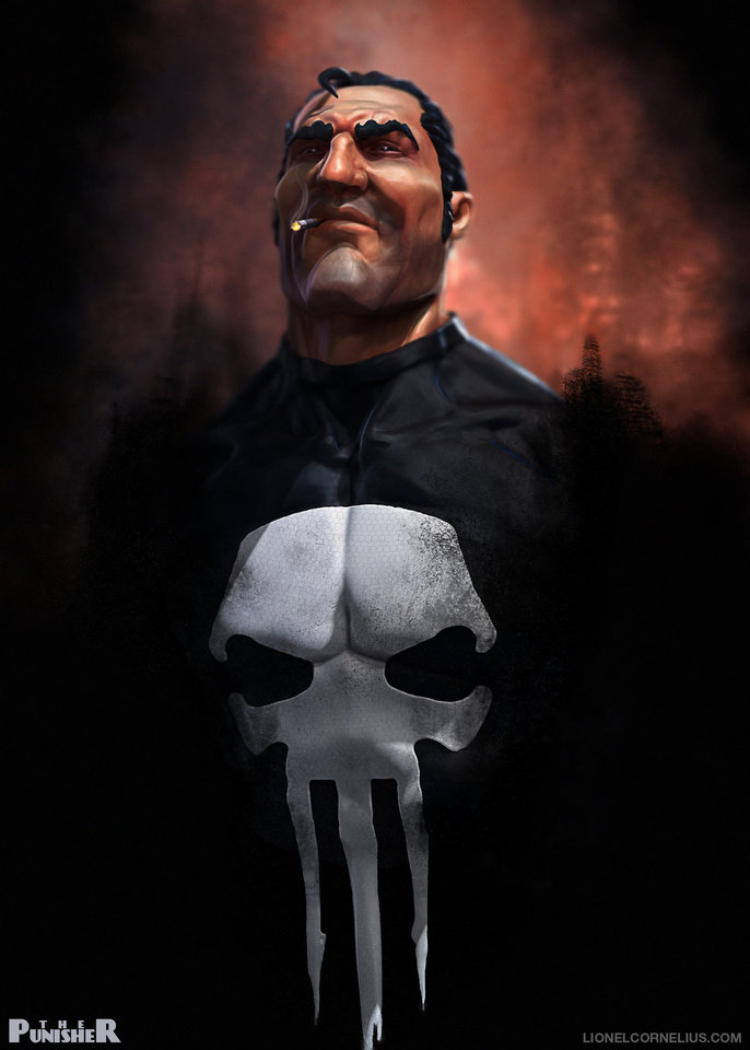 the punisher by ljsketch