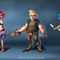 gang fighters by sorinmandache
