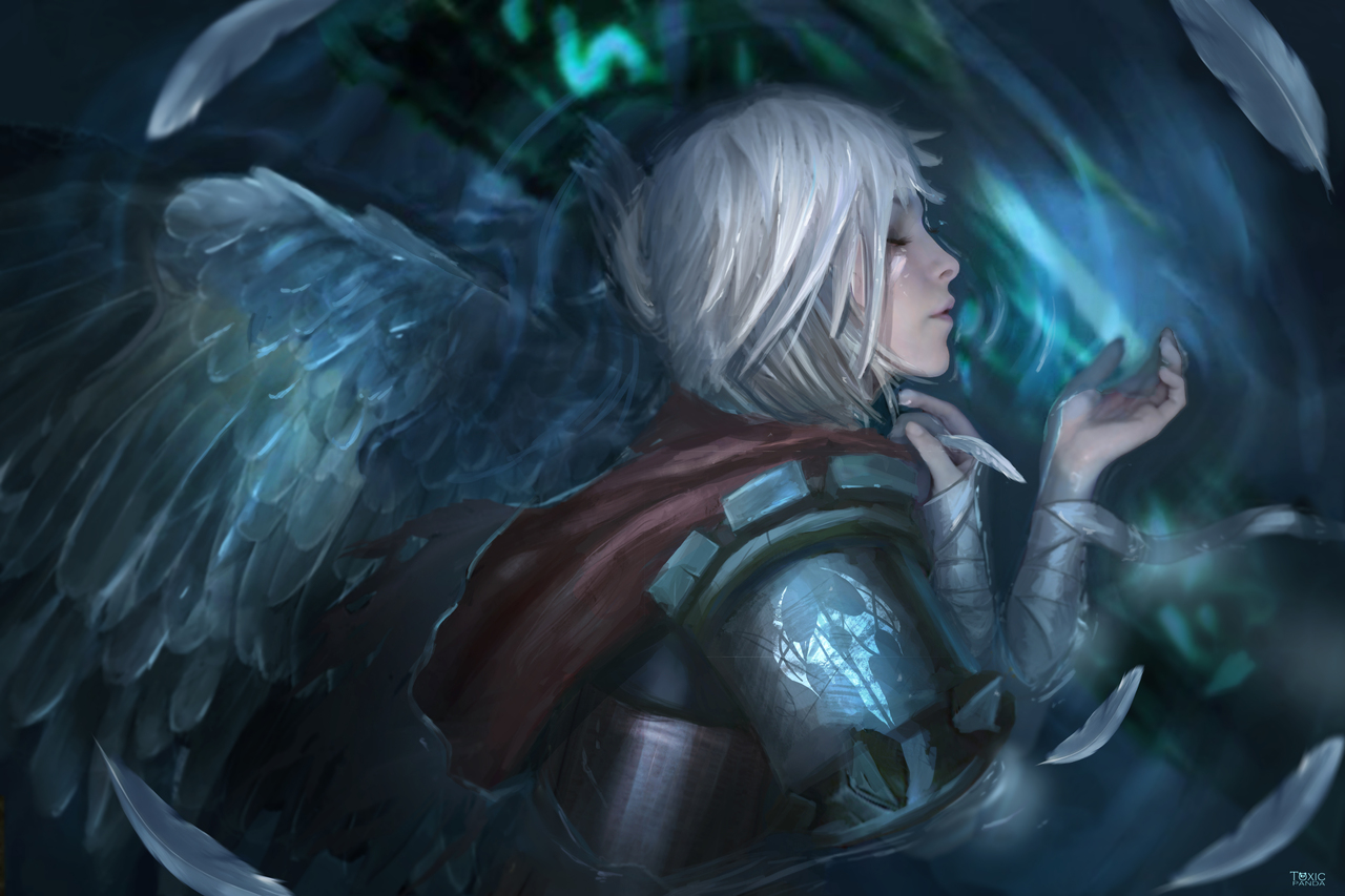 league of legends- riven by toxicpanda