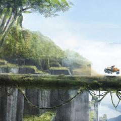 symbiont world - tree bridge by jimmy.duda