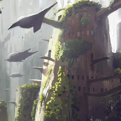 150303 Tree House Sketch by przemek.duda