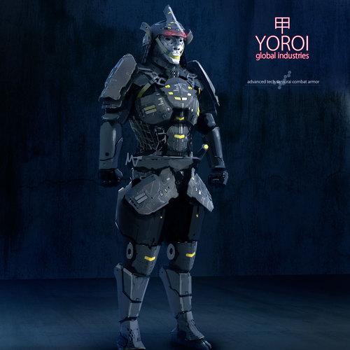 140630 Cyber Samurai 0000 by przemek.duda