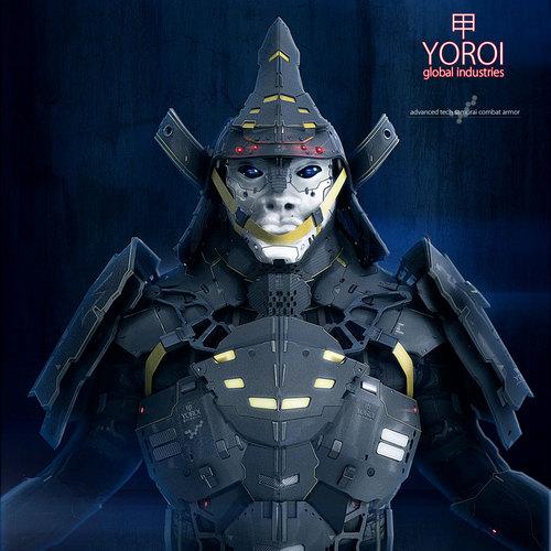 140630 Cyber Samurai 0001 by przemek.duda