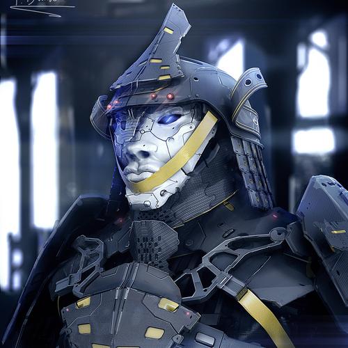140630 Cyber Samurai 0002 by przemek.duda