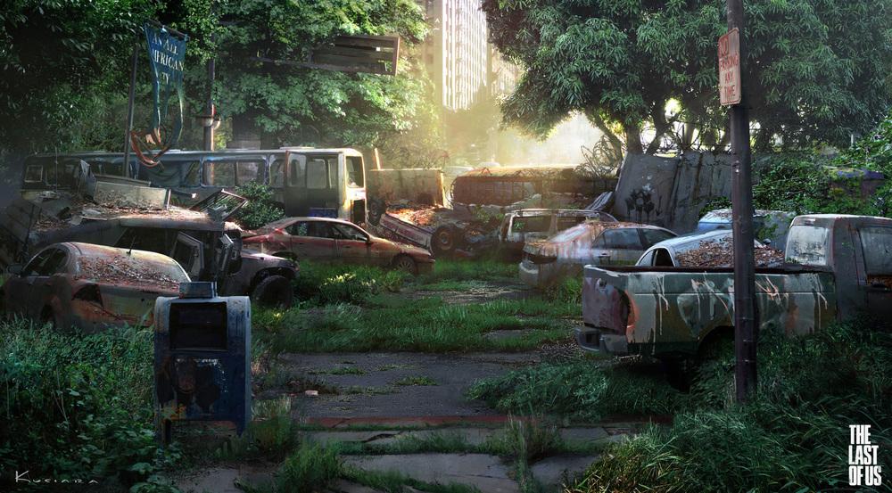 the last of us - environment 01 by maciej_kuciara