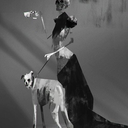 Black Skull by alexander