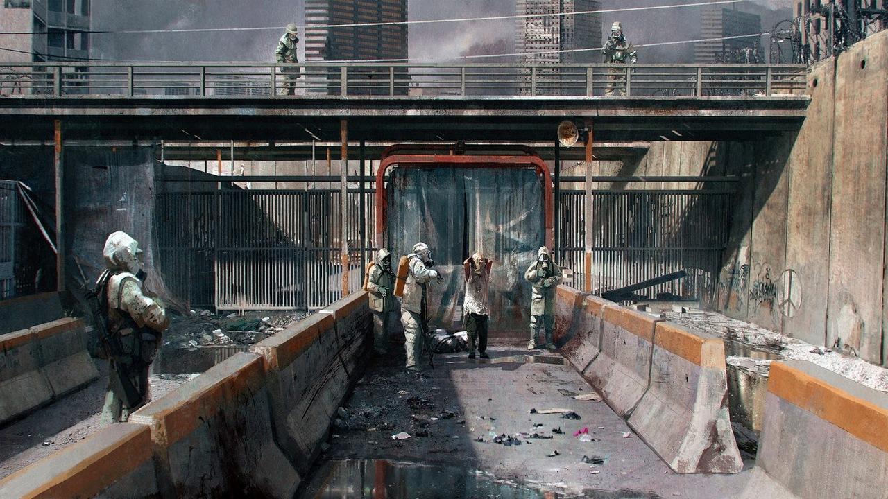 the last of us - environment 02 by maciej_kuciara