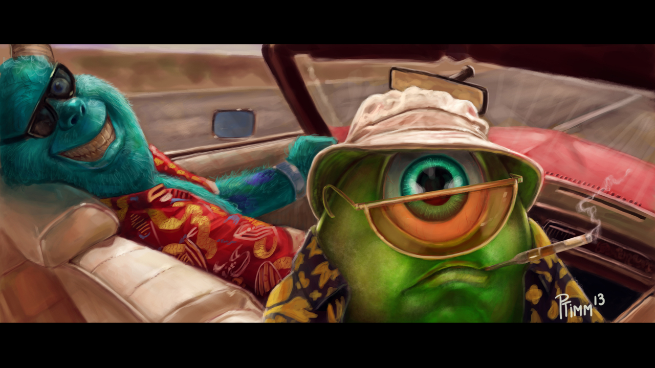 Display fear and loathing