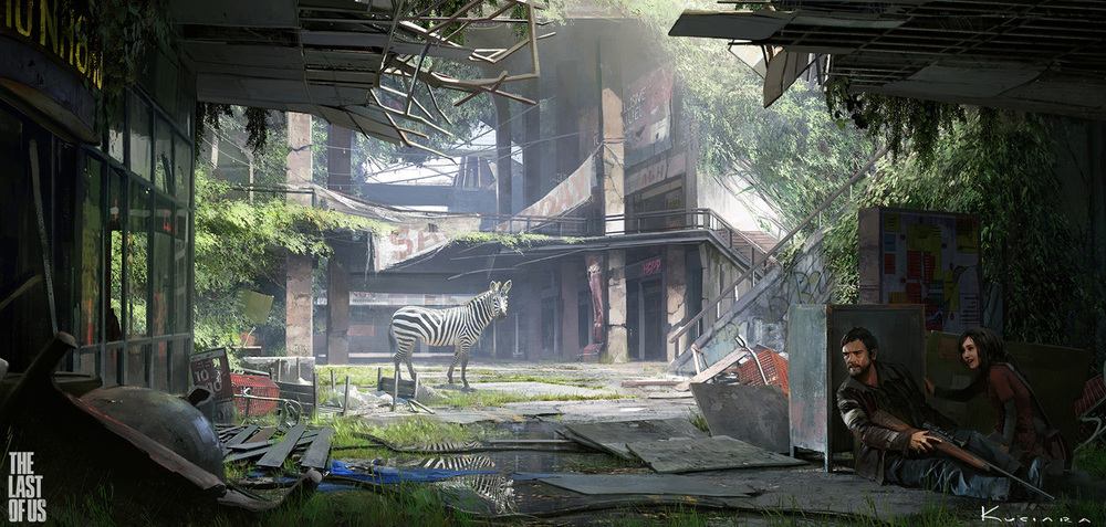 the last of us - environment 03 by maciej_kuciara