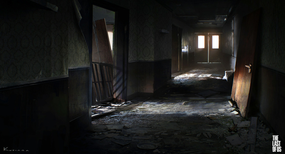 the last of us - environment 06 by maciej_kuciara