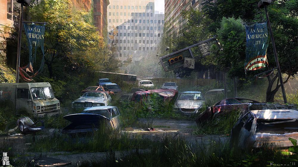 the last of us - environment 07 by maciej_kuciara