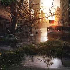 the last of us - environment 08 by maciej_kuciara
