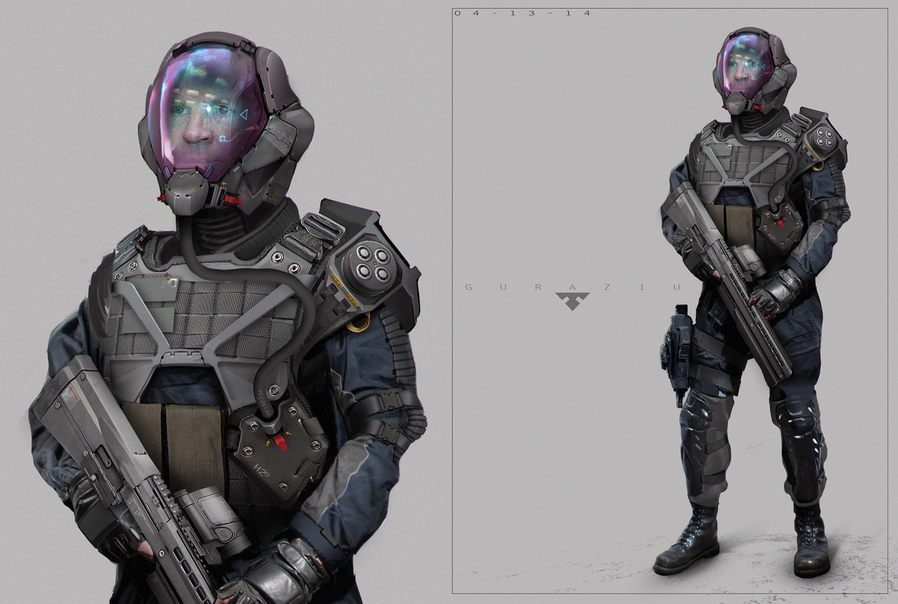 soldier design by edonguraziu