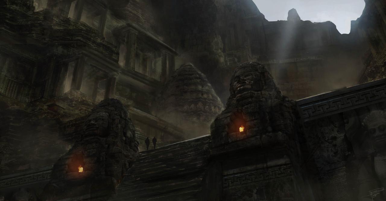 cambodian city by thomasbignon