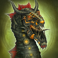 robot dragon by aishwaaryanant