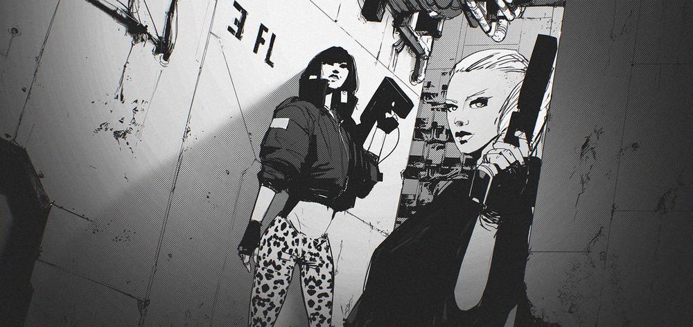 showtime - original cyberpunk series 01 by maciej_kuciara