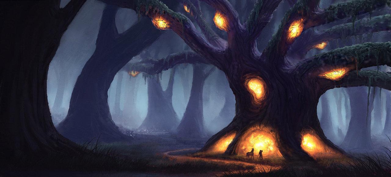 tree of enlightenment by piotr.dura