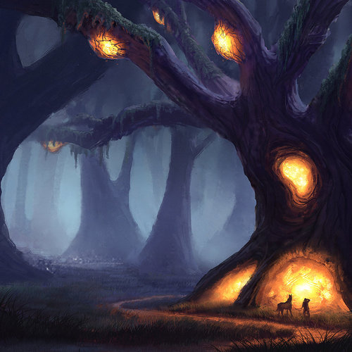 Tree Of Enlightenment by piotr.dura