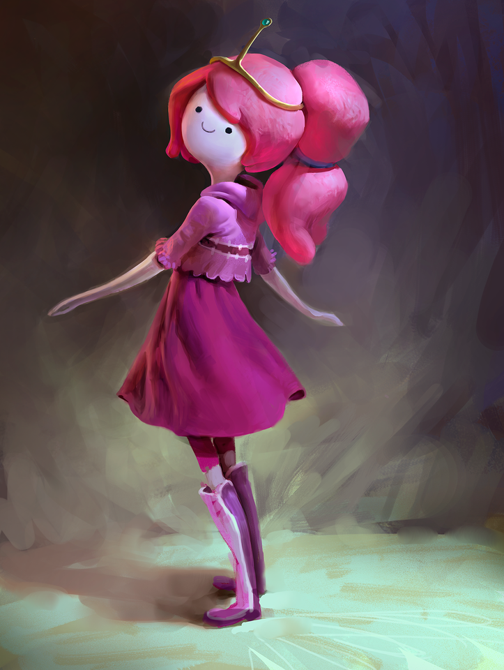 princess bubblegum by mike.azevedo