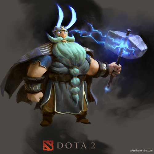 Zeus Dota 2 Redesign by mike.azevedo