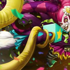 circus clown zyra by jepoykalboh