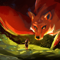 fox spirit by afanur