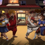 fat heroes streetfighter by carlosdattoli