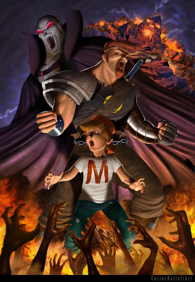 mighty max by carlosdattoli