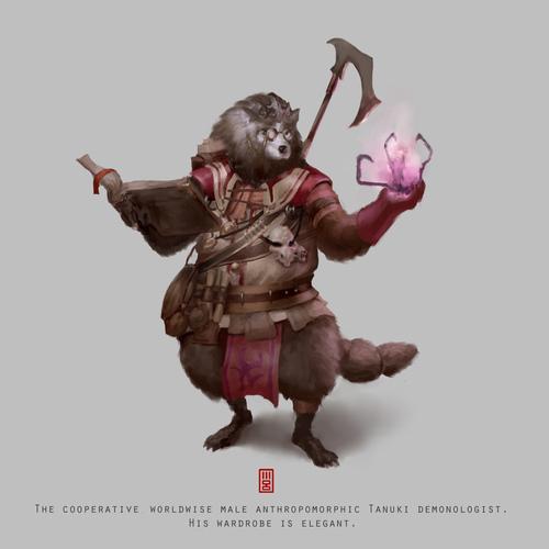 Thumb jumbo tanuki demonologist final