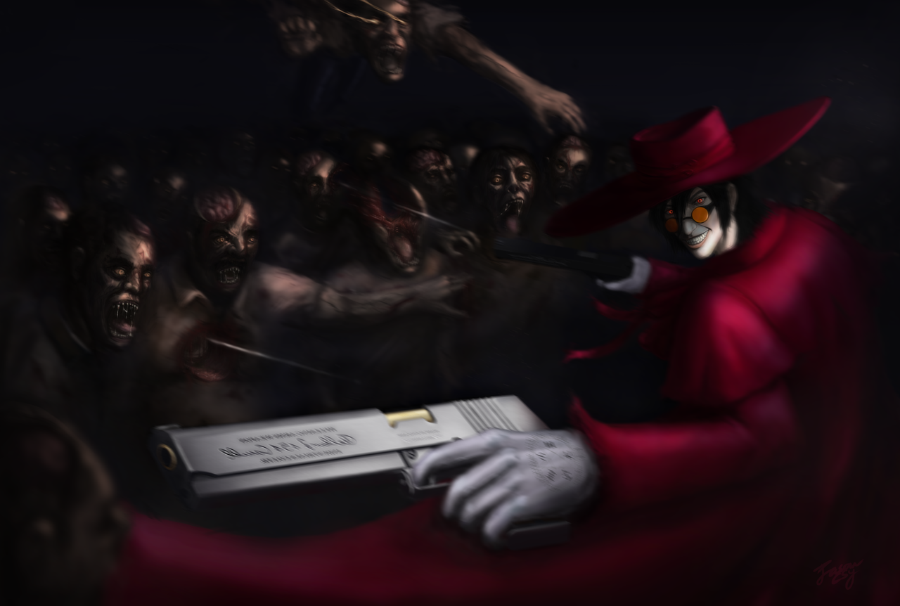 alucard fanart by jasoncsy