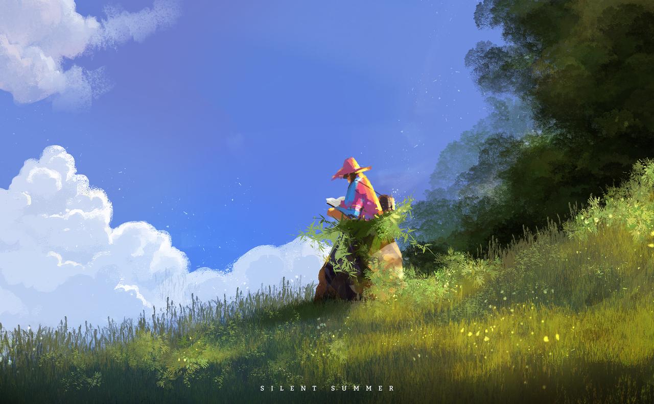 silent summer by afanur