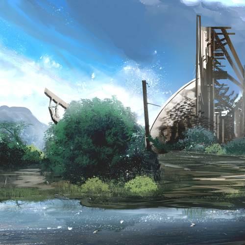 Forgotten Sanctum by joedarkbugg