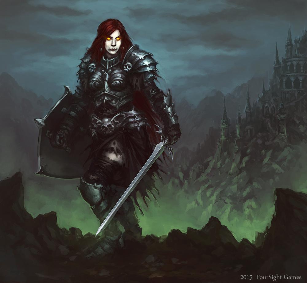 death knight by artdeepmind