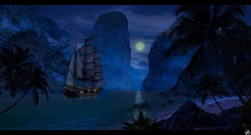 Display jumbo pirates