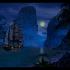 pirates - sails in the mist by zeek