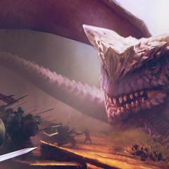 dragon by thomasmoor