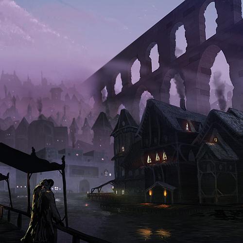 Docks Of Candrae by jasonroll