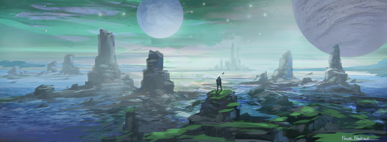 distant world by fornitani