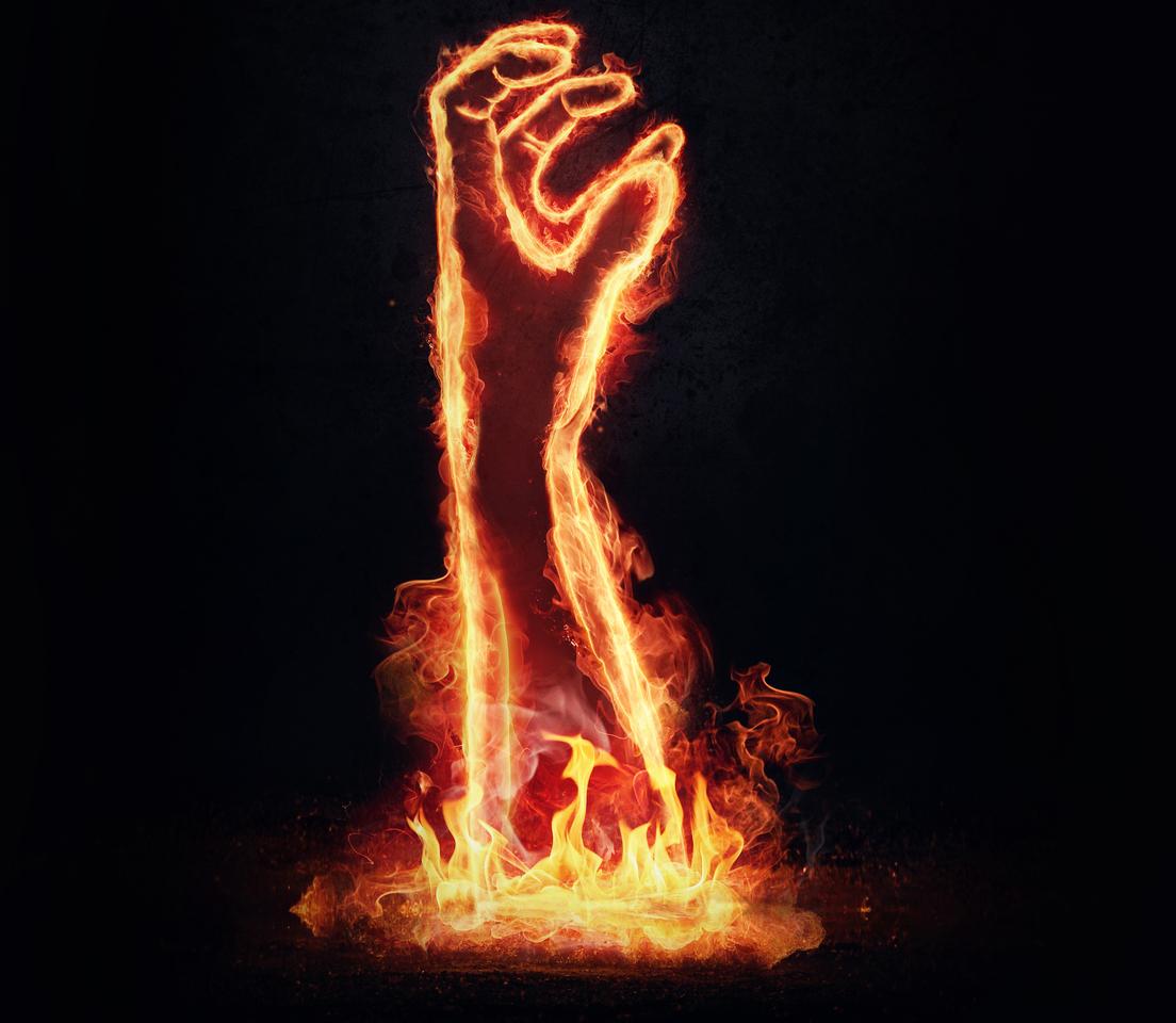 hand of hell by domenicosellaro