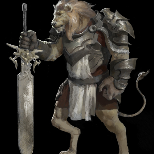 Lion Knightsml by royal